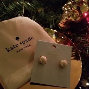 Jewelry - Kate Spade Pearl Earrings